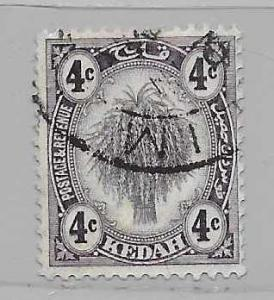 Malaya - Kedah 29 Sheaf of Rice single Used