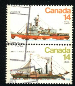 Can #776,779   pair  used VF 1978 PD