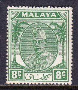 Malaya (Kelantan) - Scott #66 - MH - SCV $4.50