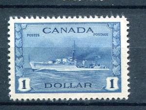 Canada #262  Mint VF  NH