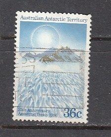 AAT SC# L75  1986 36c Treaty used