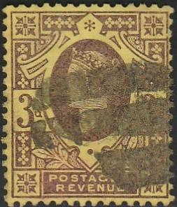 Great Britain, #115 Used From 1887-92