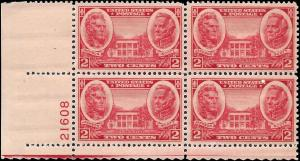 786 Mint,OG,NH... Plate Block of 4... SCV $1.20