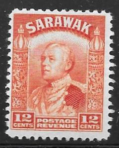Sarawak 122: 12c Sir Charles Vyner Brooke, MH, F-VF