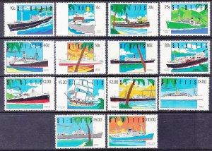 St. Kitts 294-307 MNH 1990 Ship Full Set of 14 Very Fine