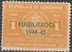 Honduras #342 F-VF Unused (SU6266)