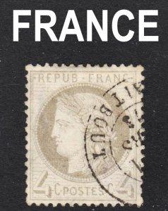 France Scott 52  F+  used.