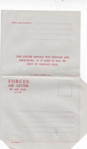 GB Forces Air Letter Unused VGC