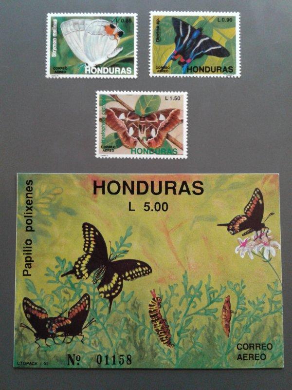 Honduras C809-C812 F-VF MNH. Scott $ 13.35
