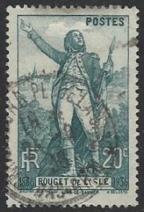 France #309 Used (U9)