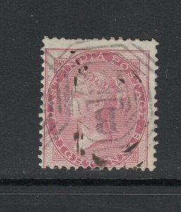 India (used in Straits Settlements), Sc 18 (SG Z78), used, B172 cancel