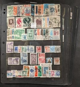 EDW1949SELL : MEXICO Nice, ALL DIFFERENT collection in PERFECT SCOTT CAT ORDER