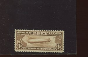Scott C14 Graf Zeppelin Air Mail Mint   Stamp NH (Stock C14-167)