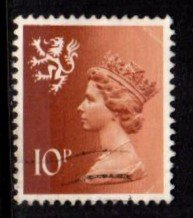 Scotland - #SMH13 Machin Queen Elizabeth II - Used