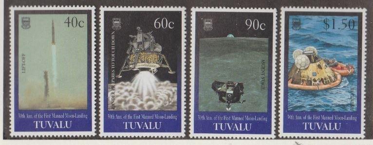 Tuvalu Scott #800-803 Stamps - Mint NH Set