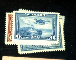 CANADA #C5-9 MINT VF OG NH Cat $22