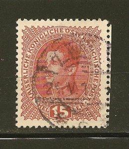 Austria 168 Emperor Carl I Used