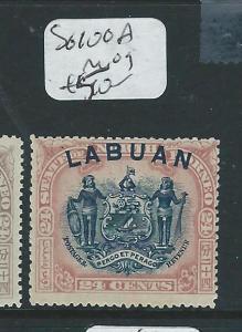 LABUAN (P2307B) 24C CREST , LION SG100A  MOG