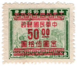 (I.B) China Revenue : Customs Duty $50 on $300 OP