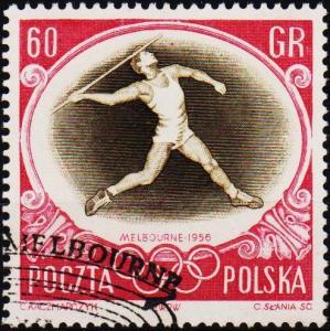Poland. 1956 60g S.G.993 Fine Used