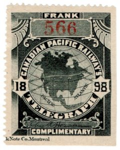 (I.B) Canada Telegraphs : Canadian Pacific (1898)