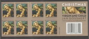 U.S. Scott #4815a Christmas Madonna Stamps - Mint NH Booklet