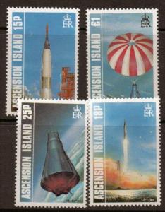 ASCENSION SG428/31 1987 FIRST MANNED EARTH ORBIT MNH