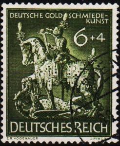 Germany. 1943 6pf+4pf S.G.848. Fine Used