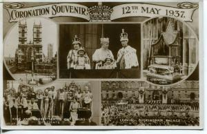 1937 Coronation PHOTO CARD May 12, 1937
