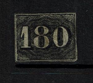 Brazil SC# 26, Used, Tiny Center Thin -  Lot 060417