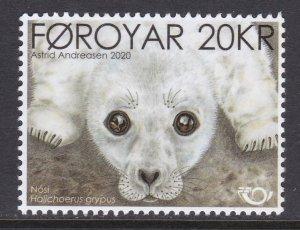 Faroe Islands, Fauna, Marine Mammals MNH / 2020