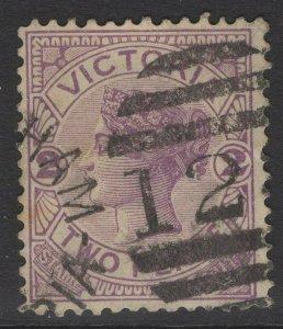 VICTORIA SG298b 1886 2d ROSY-MAUVE USED