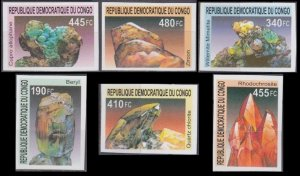 2002 Congo (Kinshasa) 1713-1718b Minerals 50,00 €