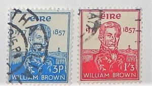 Ireland 161-62. 1957 Admiral William Brown, used