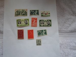 MONACO STAMPS. LOT OF 10 STAMPS #3 LOT 3