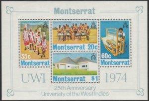 Montserrat #305a MNH Souvenir Sheet cv $4.50