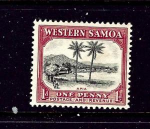 Samoa 167 MH 1935 issue #2