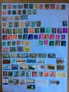 Spain 100+ stamps - Lot A