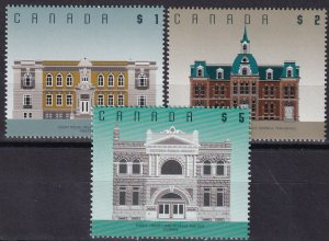 Canada  #1375-6, 1378 MNH  CV $13.05  (Z8048)