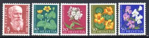 SWEDEN B287-B291 MH SCV $5.55 BIN $2.20 FLOWERS