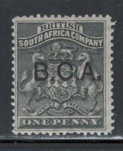 British Central Africa 1891 Overprint 1p Scott # 1 MH