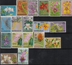 Barbados 1974-1977 SC 396-411 Used $60.20 Set