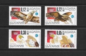 BIRDS - BULGARIA #4185-8  MNH