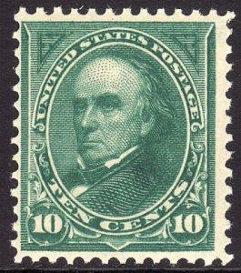 1895 U.S Daniel Webster 10¢ issue MNH Sc# 273 CV $280.00