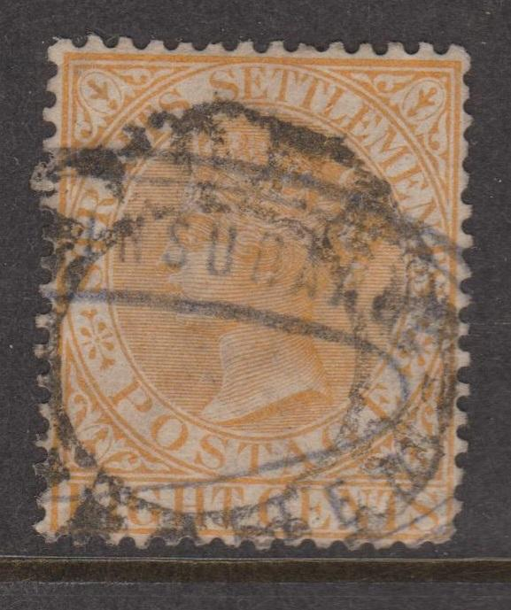 Straits Settlements Sc#49 Used