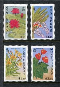 Montserrat, MNH,  Flowers 1991. x27207