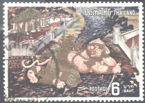 THAILAND #666-673  USED COMPLETE SET  ( 8  )