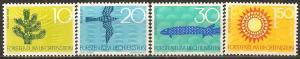 Liechtenstein #406-9 Mint Never Hinged VF (A13216)