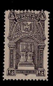Dominican Republic Scott 109 MH*