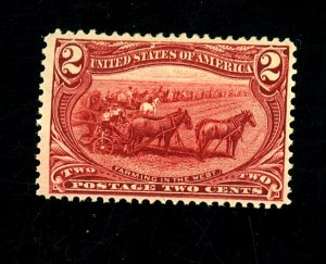 286 MINT FVF OG Very LH Cat$22.50